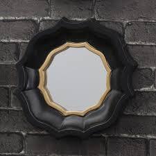 gold mirror circle porthole wall mirrors