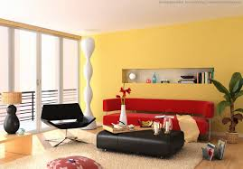 Yellow Living Room Decorating Living Room Gray Recliners Brown Chairs White Shelves Gray Sofa