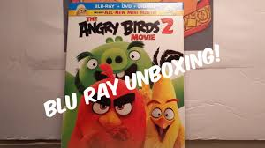 THE ANGRY BIRDS 2 MOVIE Blu Ray + DVD + Digital Code *UNBOXING
