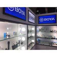 Mic ghi âm Boya BY-BM2021 giảm ồn, độ nhạy cao cho điện thoại , máy ảnh để  làm Vlog, Youtube tốt giá rẻ