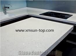 white quartz kitchen countertop artificial quartz tops engineered quartz stone countertop white sparkle fabrication island top bench top custom