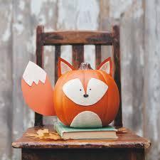 Woodland Creature No-Carve Pumpkins