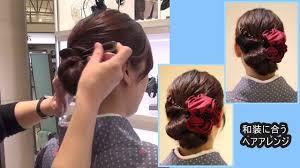 入学式の着物にあう母親の髪型2019ミディアム編簡単なヘアアレンジを