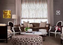 living room curtains design ideas 2016 creamy light interiro design with the painted ottoman