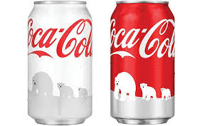 Coke Polar Bear In Bottle Vending Machine Magnificent Coca Cola Drops 'polar Bear' Cans Because Consumers Prefer To See