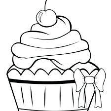 Cupcake Printables Cute Cupcake Coloring Pages Story Time Crafts