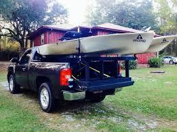 cool kayak rack for truck 12 lilblues bathroom