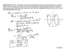 problem 121p10 50 the figure shows an arrangement known as a helmholtz coil