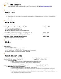 Objectives For Retail Resume Captivating Examples Objective About