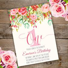 1st Birthday Party Invitation Template First Birthday Party Invitation Template Edit With Adobe Reader