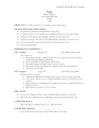 Customer Service Objective Statement For Resume Best of Sample Resume Objective Statements For Customer Service Lespa
