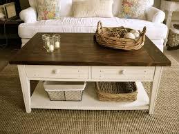 farmhouse coffee table model