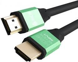 Кабель <b>Кабель HDMI 1.2м Green</b> Connection GCR-50961 круглый ...