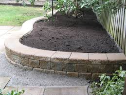 Small Picture Backyard Designs With Retaining Walls Backyard Design And Backyard
