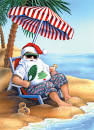 Image result for Santa on beach