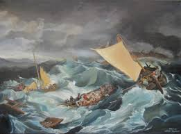 reions of famous art the shipwreck