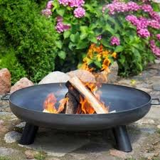 garden fire pit. Nordic Steel Fire Pit Brazier - Extra Large The Farthing Garden D