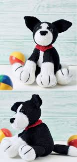 Border Collie Knitting Chart Free Knitting Pattern For A Shep The Deradog Border Collie
