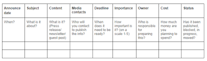 5 Media Plan Free Templates To Save Your Time Newoldstamp