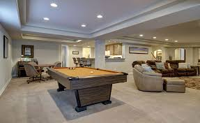Decatur Basement Great Room Pool Table Finished Basement Company