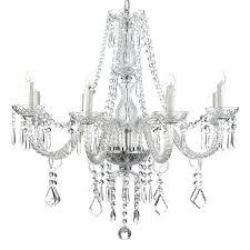 all crystal chandelier all crystal chandelier lighting 8 lights fixture pendant ceiling lamp crystal bud chandelier