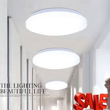 24w round led ceiling light flush mount fixture bright lamp kitchen bathroom uk 1 of 12only 3 available see more