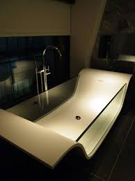see through bath south place hotel