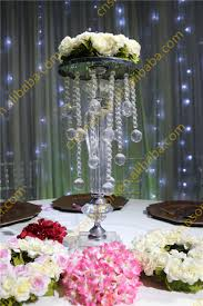 fascinating table top chandelier how to make chandelier centerpieces rose wedding table crystal light