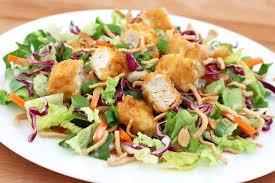 garden salad with chicken.  With Applebeeu0027s Asian Chicken Salad Copycat Recipe Intended Garden Salad With Chicken C