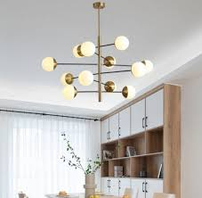 hotel project led pendant lighting metal big chandelier for lobby