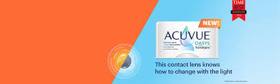 Acuvue Oasys Light Sensitivity Now In Acuvue Oasys With Transitions Light Intelligent