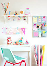 home office colorful girl. 29 Home Offices Incríveis Direto Do Pinterest. Cool Girl RoomsColorful Office Colorful O