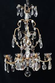 large french antique crystal chandelier large french antique crystal chandelier