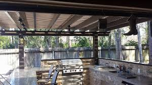 kingwood tx screened outdoor kitchen enclosure