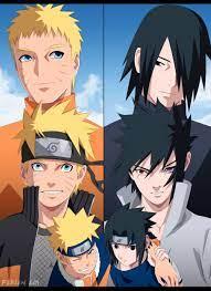 Naruto and Sasuke by FabianSM on DeviantArt