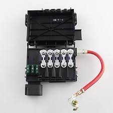 fuse box battery terminal for vw jetta golf mk beetle tdi image is loading fuse box battery terminal for vw jetta golf