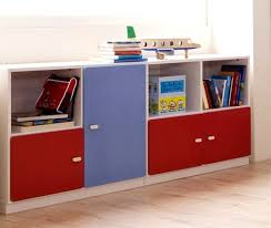 Modern Minimalist White Storage Organizer Furniture For Kids With With  Cabinets And Shelves