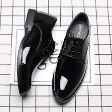 <b>Men's</b> Business Dress Leather Patent Leather Shoes <b>Men's Tide</b> ...