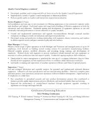 Materials Manager Resume Amazing Fabrication Development Manager Resume