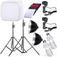 2018 photo studio 32 photography light tent backdrop kit cube lighting kit in a box from jingxiu777 61 31 dhgate com