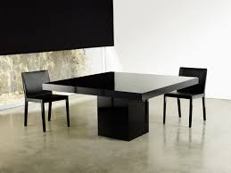 Square Contemporary High Gloss Dining Table Lexington Fayette