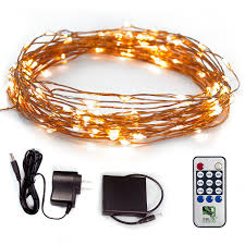 Small Picture Fairy Star LED String Lights Extra Long 39ft Warm White Twinkle