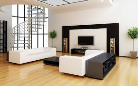 decorative ideas for living room apartments. Astounding Interior Simple Living Room Ideas Furnishing Home Wooden Mateial Black White Brown Stairs Decorative For Apartments