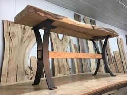 Steel table legs Bench Tap To Expand Ohio Woodlands Steel Sofa Table Base Ohiowoodlands Metal Table Legs Console Table