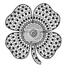 Znalezione obrazy dla zapytania czterolistna koniczyna czarno białe zdjęcie