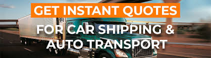 Car Shipping Quote Stunning Get Instant Shipping Quote Now