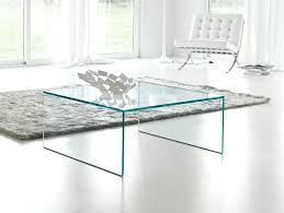 coffee table  modern rectangular glass coffee table with curved
