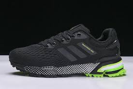 2018 adidas Aerobounce ST Black/Green <b>Men's</b> Shoes BW0003 ...