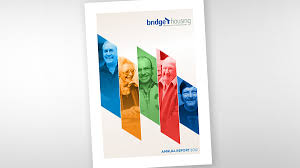 Financial Report Cover Page Deep Space Bridge Housing