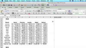 How To Save An Excel Spreadsheet To Look Like A Single Page Using